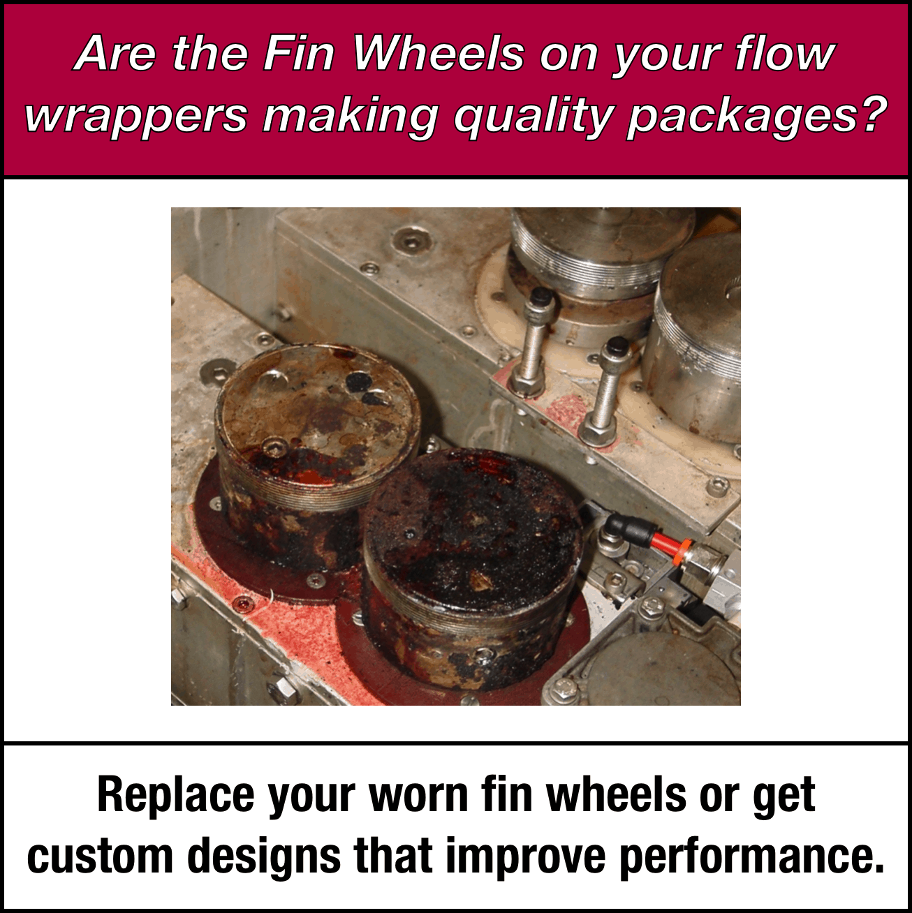Fin Wheels for Flow Wrappers