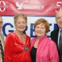 Greener's 50th Anniversary: (left to right) Noel Bown, Bette Brown, Carolyn Wojtech, Ted Wojtech