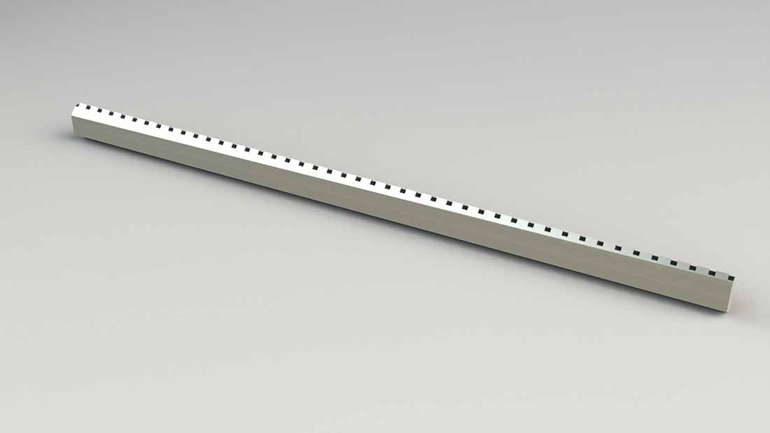 Perforating Knife for Flow Wrapper