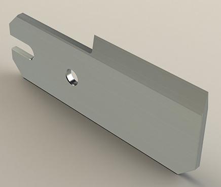 3D render of a packaging knife